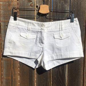 FOREVER 21 white shorts